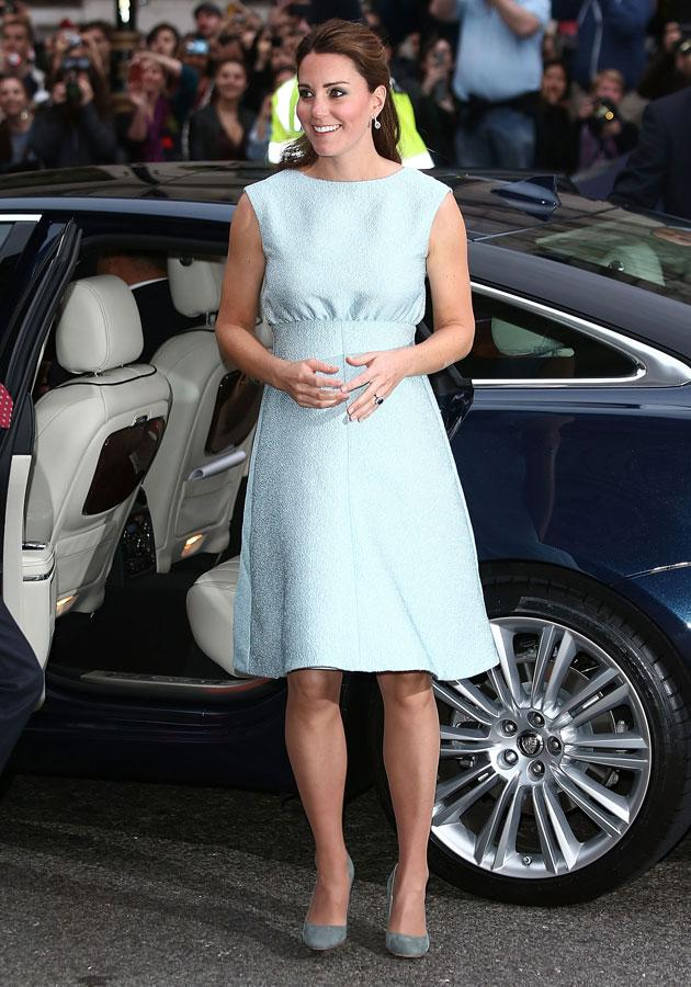 c553d61158409 Kate Middleton wows in pastel Emilia Wickstead dress