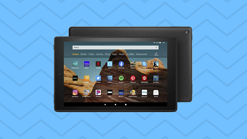 Save $70 on the Fire HD 10 tablet. (Photo: Amazon)