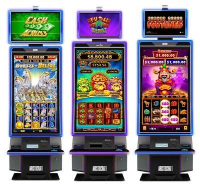 Aristocrat Gaming's™ all-new MarsX™ Portrait cabinet is a breakthrough of advanced technology for players, operators, and slot techs. The cabinet launched with a new, compelling game library to create an out-of-this world experience. Learn more at www.aristocratgaming.com.