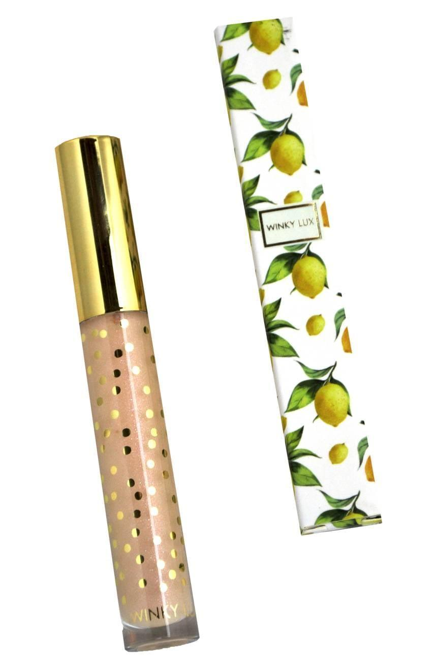 <p>Not only does this <span>Winky Lux Pucker Up Lip Plumping Gloss</span> ($18) make your pout fuller, but it also tastes like lemon cake.</p>