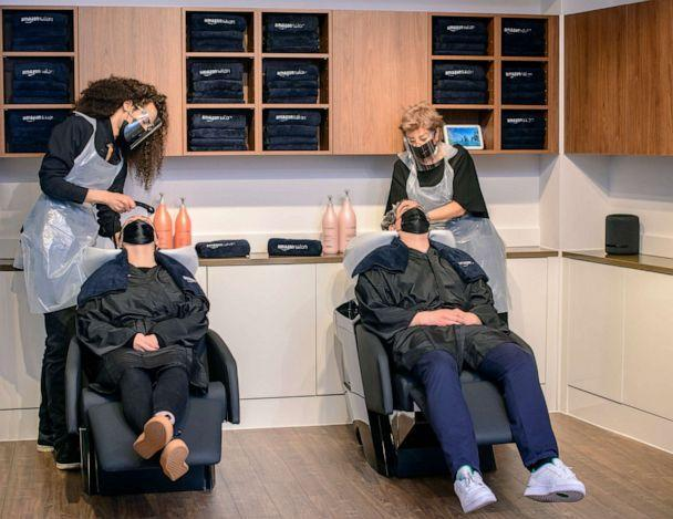 PHOTO: Amazon plans to open its first hair salon in London. (Amazon)