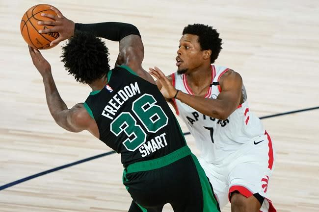 Raptors guard Kyle Lowry listed as available for Game 1 versus Celtics