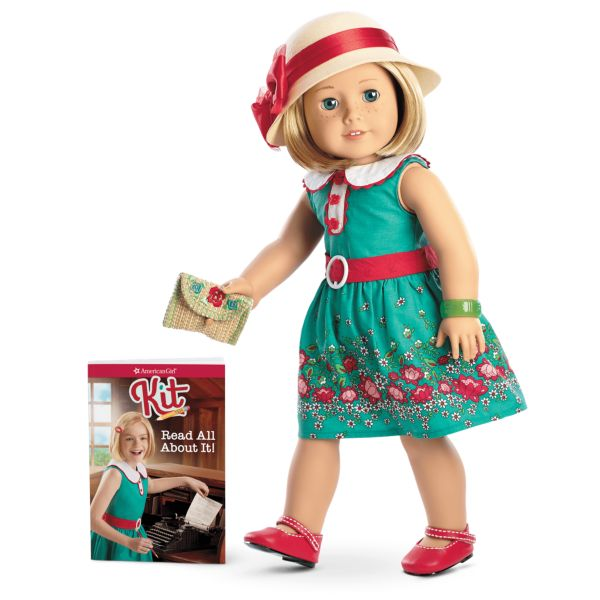 <p>Kit Kittredge has an awesome alliterative name and the best of the American Girl movies. This wannabe reporter was played in the movie <em>Kit Kittredge: An American Girl</em> by Abigail Breslin, a movie that also features Chris O'Donnell, Julia Ormond, Joan Cusack, and Stanley Tucci. Stanley Tucci! Kit's the coolest tomboy who would rather be outdoors and watch baseball than talk about fashion. Set in 1934 against the backdrop of the Great Depression, Kit adjusts quickly to helping her family when they are down on their luck. Plus, she's busy investigating crime, publishing articles in the paper, and helping the homeless. Kit 2020!</p>