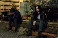 After handing over the keys of Alias Investigations, Jessica Jones attempts to leave the city but she returns. To become a full hero? We're not sure. Netflix cancelled the series so unless Disney decide to bring her back after the two-year grace period in its deal with the streaming service (to not use the characters), we'l have to just guess or look to the comics for closure.