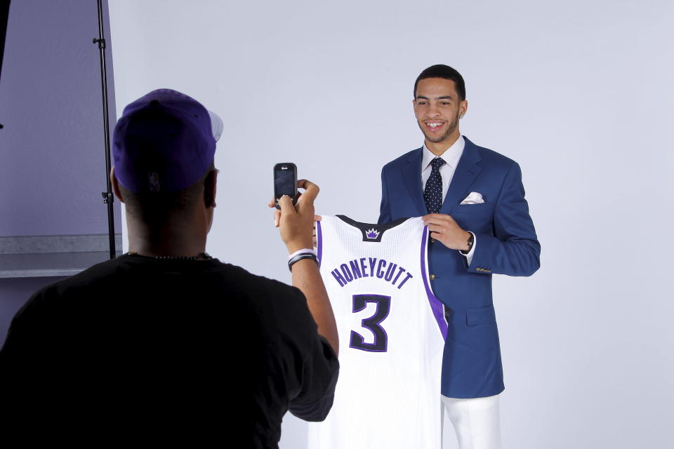 Tyler Honeycutt's NBA career spanned 24 games with the Sacramento Kings from 2011-2013. (Getty Images)