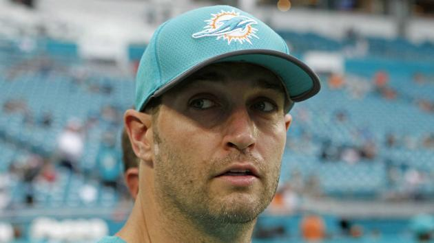 <p>Dolphins QB Cutler out with concussion against Patriots</p>