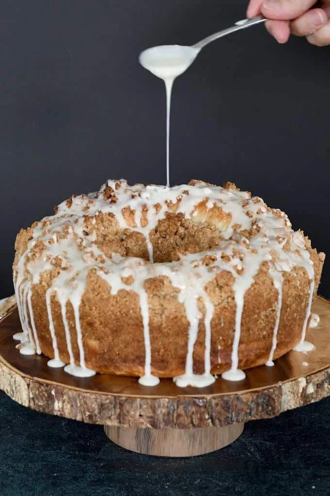 """<a href=""""https://www.baking-sense.com/2020/02/27/sourdough-coffee-cake/"""" rel=""""nofollow noopener"""" target=""""_blank"""" data-ylk=""""slk:Sourdough Coffee Cake With Walnut Streusel"""" class=""""link rapid-noclick-resp""""><h2>Sourdough Coffee Cake With Walnut Streusel</h2></a> <br>I'm sure you're craving your favourite coffee cake by now and this recipe is sure to satisfy.<br><br>Recipe here by <a href=""""https://www.baking-sense.com/2020/02/27/sourdough-coffee-cake/"""" rel=""""nofollow noopener"""" target=""""_blank"""" data-ylk=""""slk:Baking Sense"""" class=""""link rapid-noclick-resp"""">Baking Sense</a><br><br><br>"""