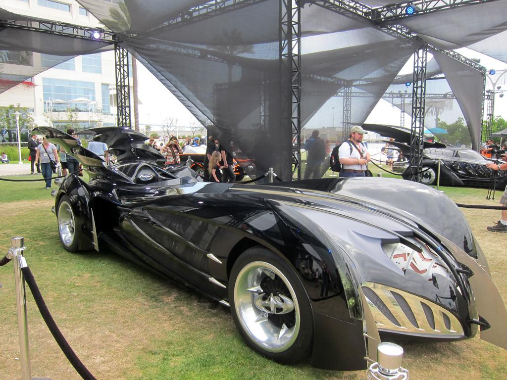 "The ""George Clooney"" Batmobile from 'Batman and Robin' -"
