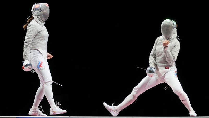 Fencing - Women's Individual Sabre - Gold medal match