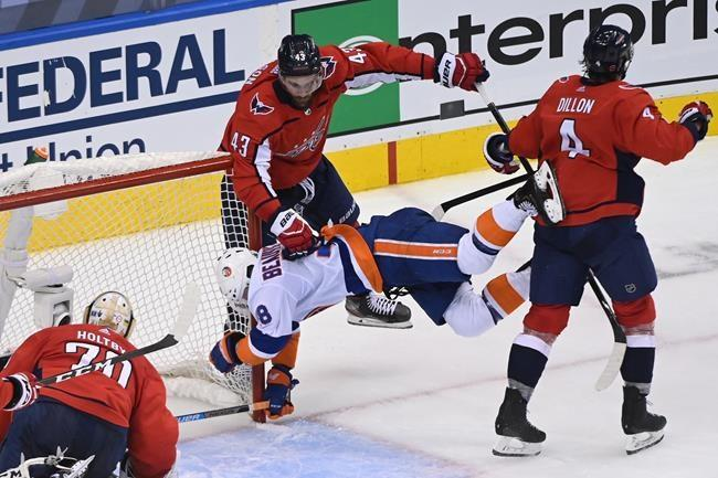 Trotz's Islanders eliminate Capitals with 4-0 win in Game 5
