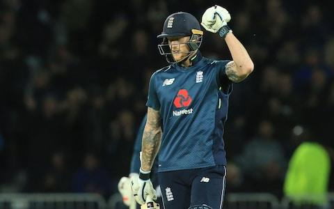 <span>Stokes saw England home with his unbeaten 71</span> <span>Credit: AFP </span>
