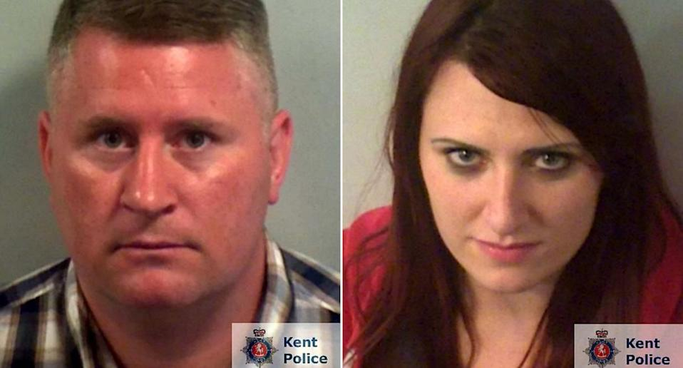 The far-right pair have been jailed for hate crimes (PA)