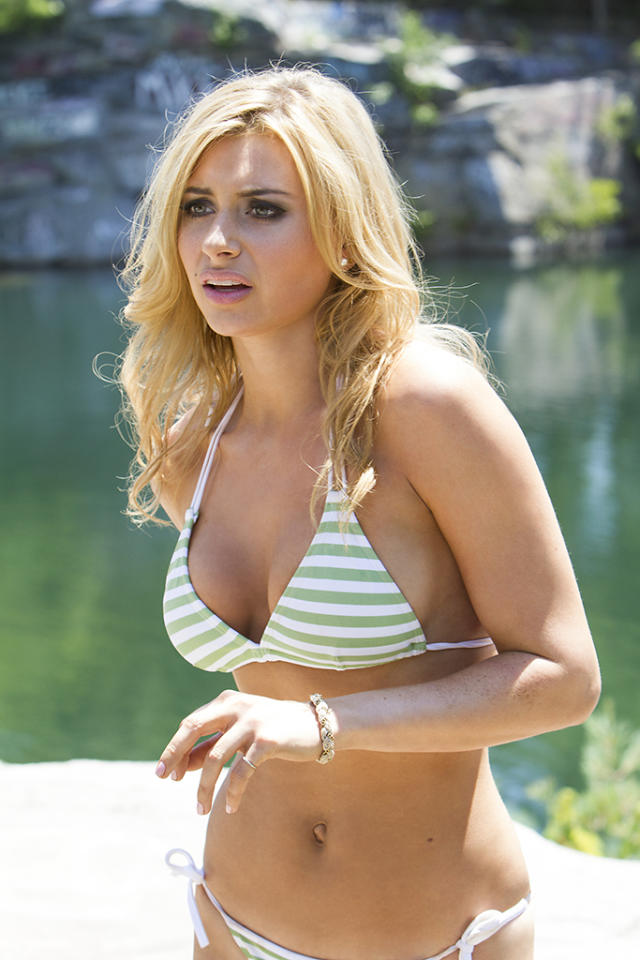 Savannah (Aly Michalka) at the quarry in Columbia Pictures' GROWN UPS 2.