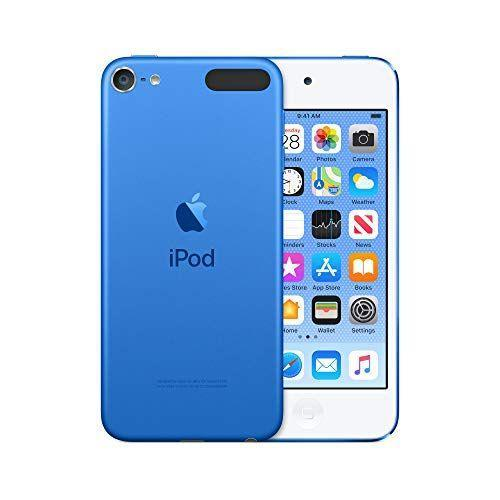 """<p><strong>Apple</strong></p><p>amazon.com</p><p><strong>$189.99</strong></p><p><a href=""""https://www.amazon.com/dp/B07SFC54NY?tag=syn-yahoo-20&ascsubtag=%5Bartid%7C10055.g.29419638%5Bsrc%7Cyahoo-us"""" rel=""""nofollow noopener"""" target=""""_blank"""" data-ylk=""""slk:Shop Now"""" class=""""link rapid-noclick-resp"""">Shop Now</a></p><p>Even though it's more of a splurge gift, your 9-year-old can use this iPod Touch kind of like a <a href=""""https://www.goodhousekeeping.com/electronics/g28134488/best-cell-phones-for-kids/"""" rel=""""nofollow noopener"""" target=""""_blank"""" data-ylk=""""slk:first phone"""" class=""""link rapid-noclick-resp"""">first phone</a> in the sense that there's the capability to <strong>send messages and use apps with WiFi </strong>rather than cellular service. They can even play games on certain apps without requiring an internet connection. For added safety, adults can use parental controls to restrict certain content and set screen-time limits on the device. <em>Ages not specified</em></p>"""
