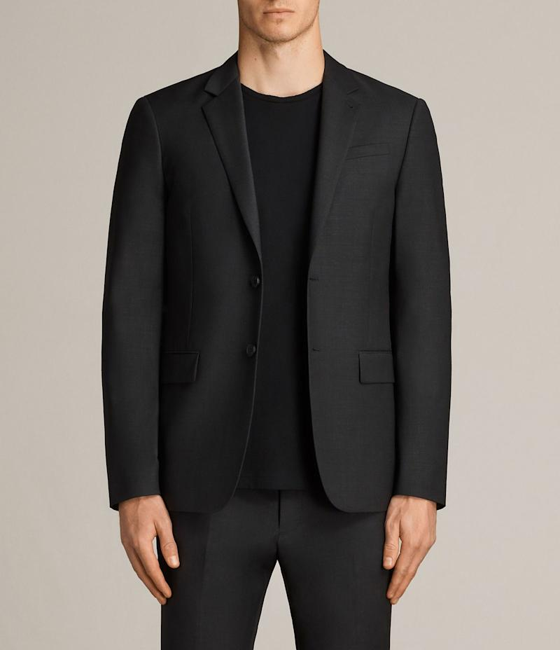 "If you'd like a few classy options that are a bit edgier than J.Crew, <a href=""https://www.us.allsaints.com/"" target=""_blank"">AllSaints</a> could be just right. T-shirts are definitely on the pricier end, but you can get blazers for less than $500. AllSaints is also known for its leather goods, but those would definitely be splurge items."