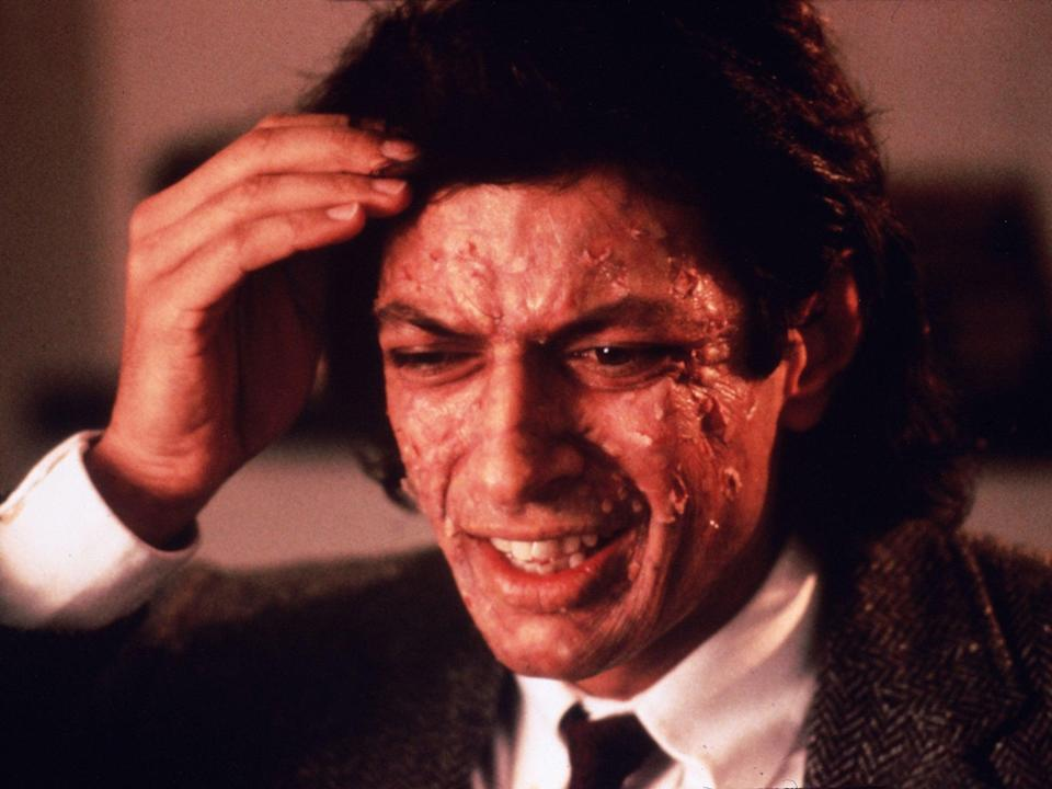 Be afraid, be very afraid: Jeff Goldblum in The Fly (20th Century Fox/Kobal/Shutterstock)