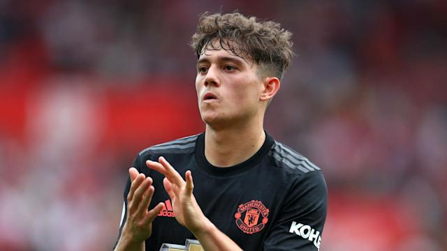 Manchester United will be without Daniel James for their opening Europa League group game, while David de Gea is to be rested.