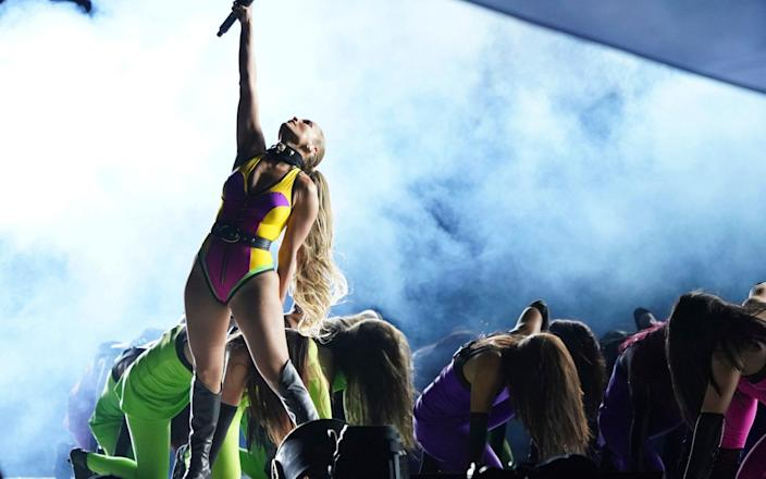Jennifer Lopez performs at Vax Live - Invision