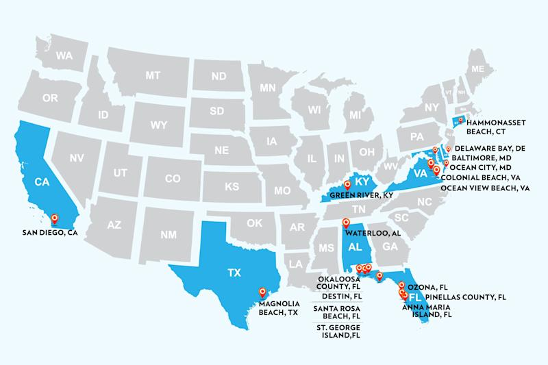 Here's All the Places Where People Have Reported Contracting