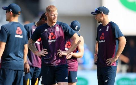 Ben Stokes and Joe Root at Headingley  - Credit: PA