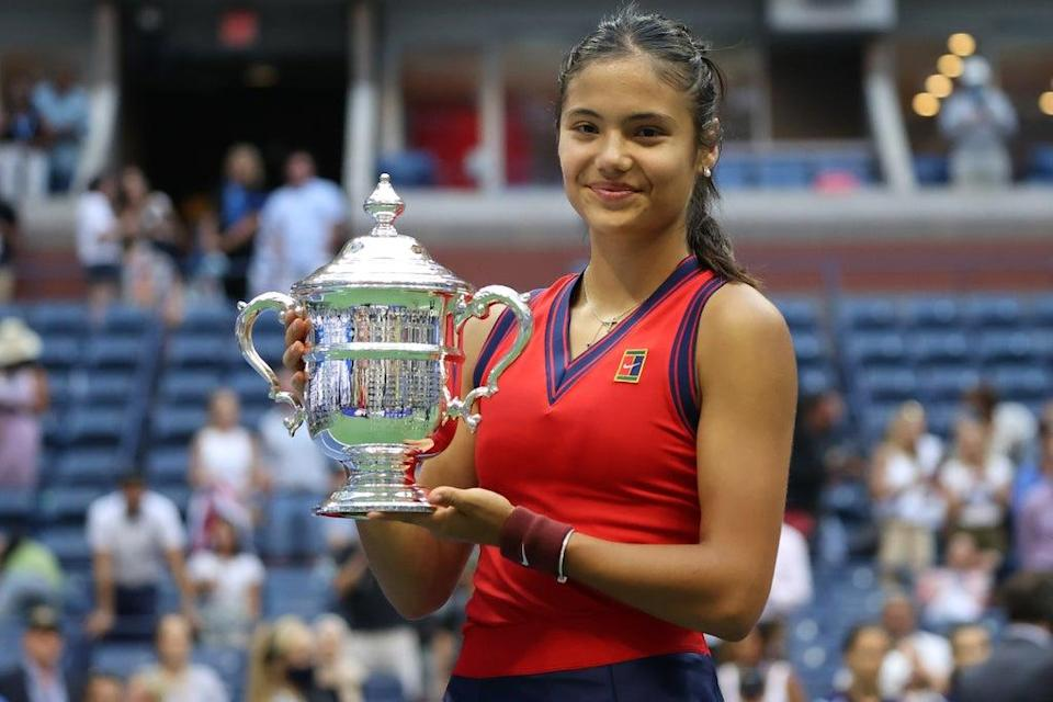 Emma Raducanu is the first British player to win a grand slam singles title since Andy Murray's last Wimbledon crown in 2016  (Getty Images)