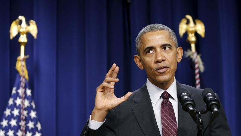 Obama speaks at the Lilly Ledbetter Fair Pay Act event in Washington