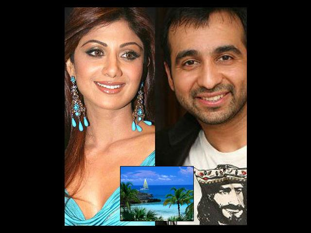 <b>Shilpa-Raj: The Bahamas</b><br> After a period of undaunted wooing London-based entrepreneur Raj Kundra finally managed to win the love of gorgeous Shilpa Shetty. As soon as their grand wedding was over, they flew to the beautiful Bahamas to spend some time together. The resort that Raj Kundra had booked for their coveted vacation is known all over the world for its captivating casino, cryptic underwater ruins, mesmerising marine habitat and breathtaking waterfalls and lagoons