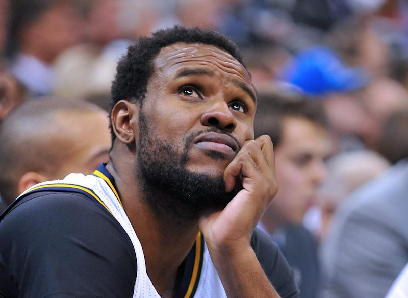 Trevor Booker, professional basketball player and amateur volleyball star. (Gene Sweeney Jr./Getty Images)