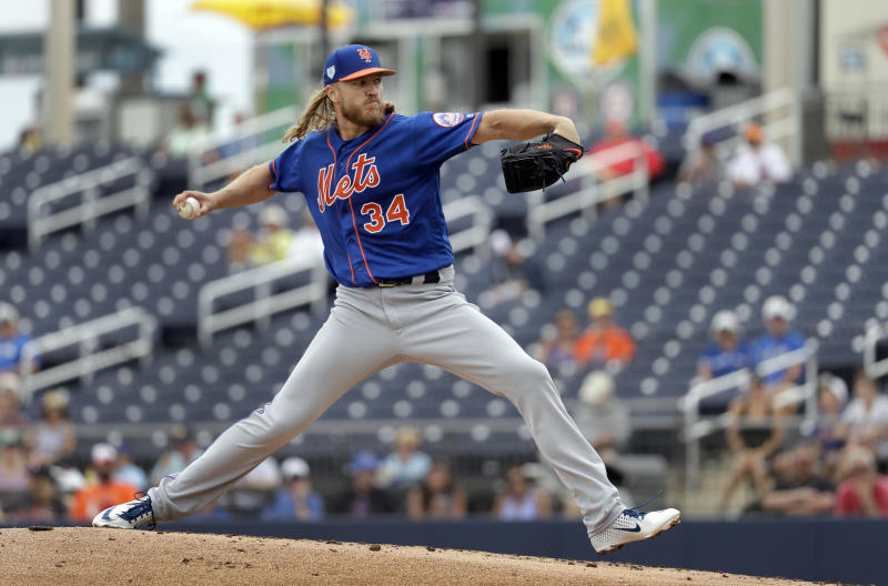 Syndergaard unhappy with deGrom negotiations, 'Cuse trip