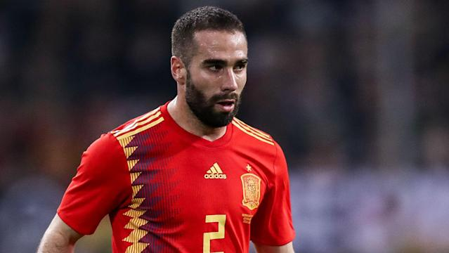 The Spain defender could make his return from a hamstring injury in his country's clash with Iran on Wednesday, according to his manager