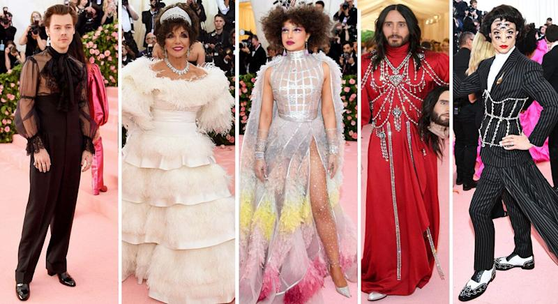 The best Met Gala looks. [Photo: Getty]