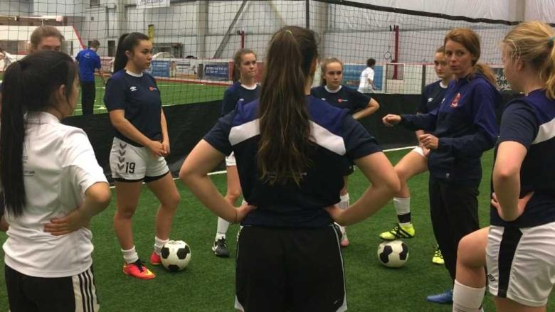 2 Whitehorse teens 'over the moon' to make varsity soccer teams