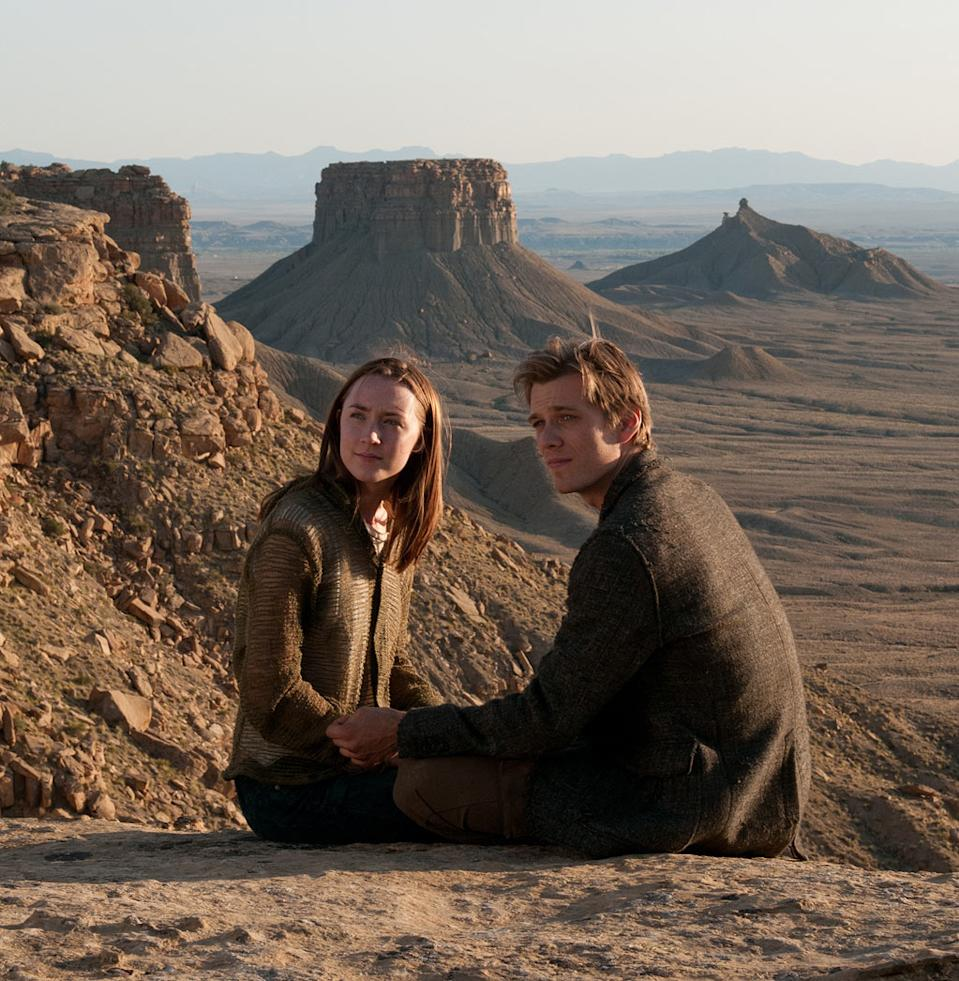 "Saoirse Ronan and Jake Abel in Open Road Film's ""The Host"" - 2013"