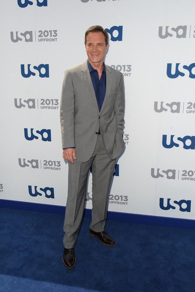 NEW YORK, NY - MAY 16:  Tim DeKay attends USA Network 2013 Upfront Event at Pier 36 on May 16, 2013 in New York City.  (Photo by Dave Kotinsky/Getty Images)
