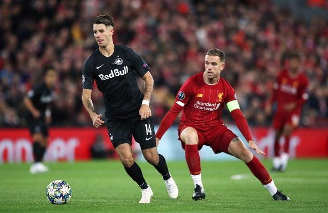 Liverpool v FC Red Bull Salzburg – UEFA Champions League – Group E – Anfield