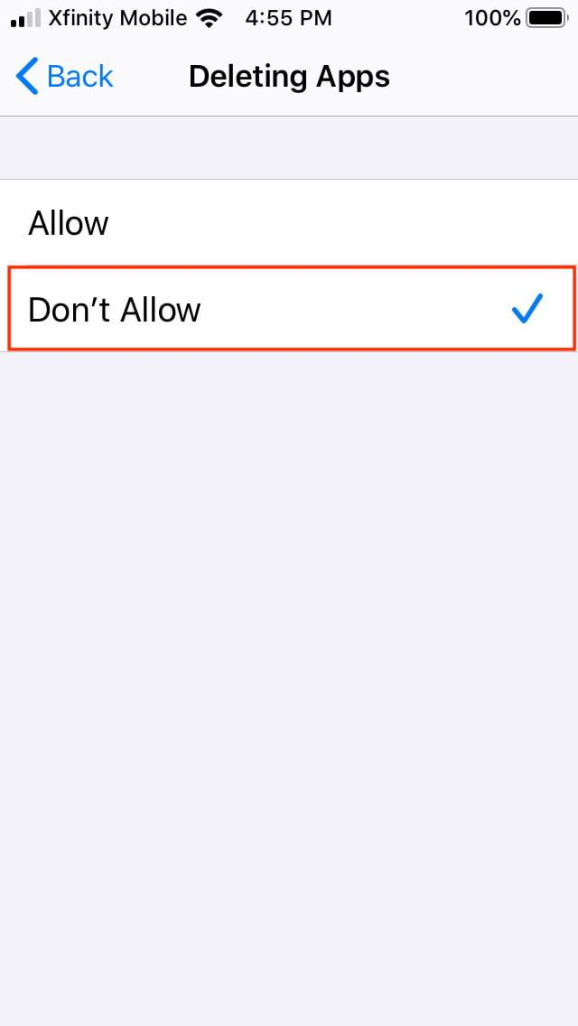 how to offload ios apps restrict offload444