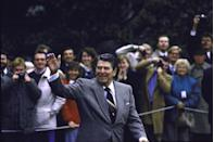 "<p>Throughout his presidency, Ronald Reagan delivered eight Thanksgiving Day messages to the country, touching on the importance of spiritual values and celebrating the United States' successful industries. In 1988, the White House<span class=""redactor-invisible-space""> statement noted that Americans should be thankful for the resurgence in manufacturing jobs following a stock market crash the year before.</span></p>"