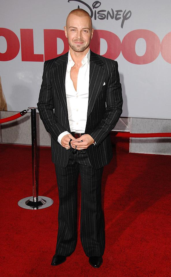 """Whoa! Remember when Joey Lawrence was the adorable star of """"Blossom"""" back in the early '90s? Those were the good ol' days. Steve Granitz/<a href=""""http://www.wireimage.com"""" target=""""new"""">WireImage.com</a> - November 9, 2009"""
