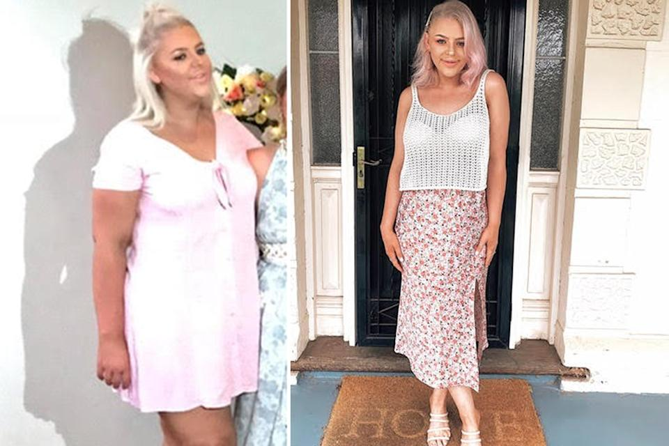 Charlotte Snelgrove before and after weight loss