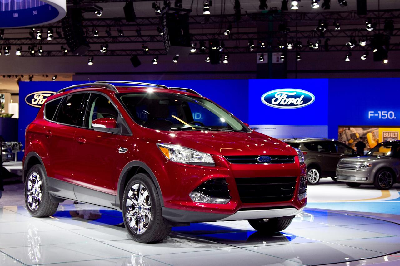 Ford is importing a new Escape in hopes of keeping its best-seller status. Designed to be sold around the world as the Kuga, the new Escape eschews the block styling for a slippier shape that mimics the Ford Focus, with which it shares basic components. While the base 2.5-liter four-cylinder engine gets a few tweaks to 168 hp, Ford drops the V6 option in favor of two smaller turbocharged four-cylinder powerplants; a 1.6-liter Ecoboost that Ford claims will top competitors in fuel economy while pumping 173 hp, and the top-line 2-liter Ecoboost will churn 237 hp.