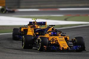 "Fernando Alonso says his seventh place in the Bahrain Grand Prix was a ""bit of a coincidence"" and admits his McLaren Formula 1 team must improve in the upcoming races"