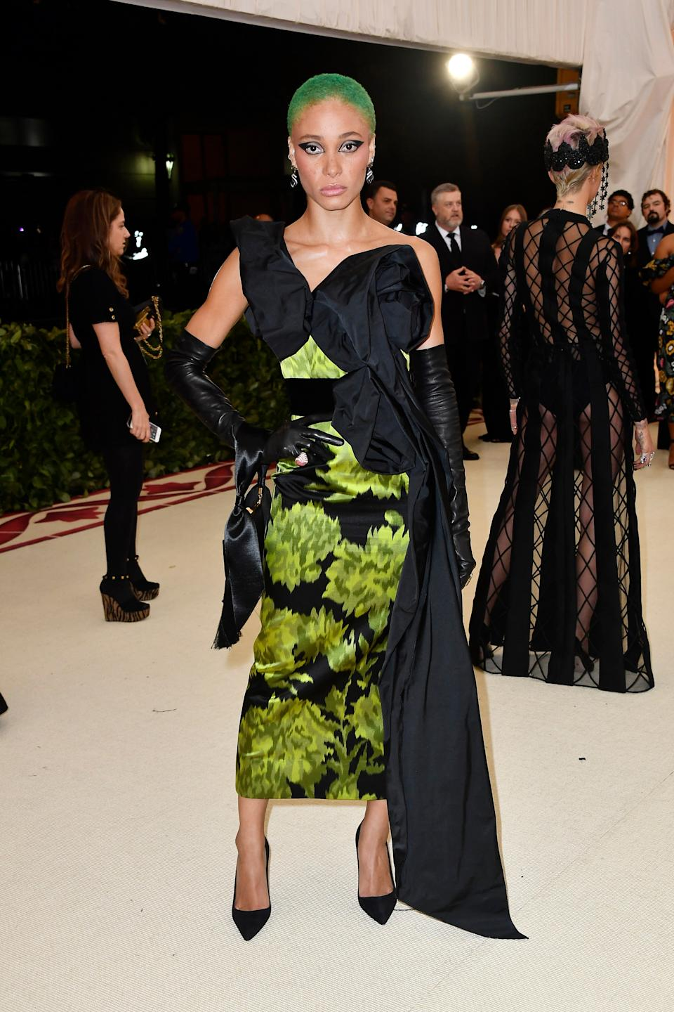 """<h1 class=""""title"""">Adwoa Aboah in Marc Jacobs, John Hardy jewelry, and Maria Tash jewelry</h1><cite class=""""credit"""">Photo: Getty Images</cite>"""