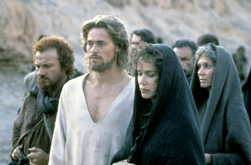 """Harvey Keitel, Willem Dafoe and Barbara Hershey star in """"The Last Temptation of Christ,"""" released in 1988. (Sunset Boulevard via Getty Images)"""
