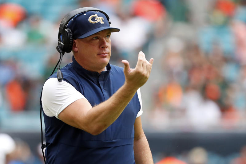 Ga. Tech begins most unusual season with 2-a-day practices