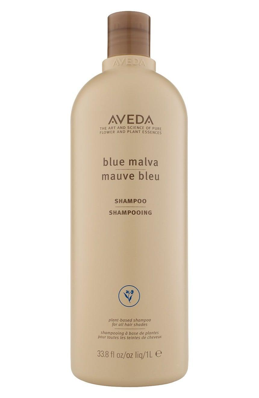 <p>This <span>Aveda Blue Malva Shampoo</span> ($54) uses its vibrant blue color to help you keep up that cool blonde. The main ingredient of Blue Malva is a great treatment for your scalp.</p>