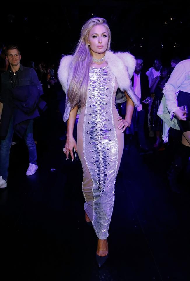 <p>La antigua estrella de los reality shows asistió al desfile de la casa de modas The Blonds/Getty Images </p>