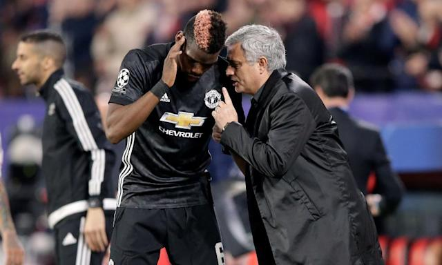 Paul Pogba needs to up his game to win back trust of José Mourinho