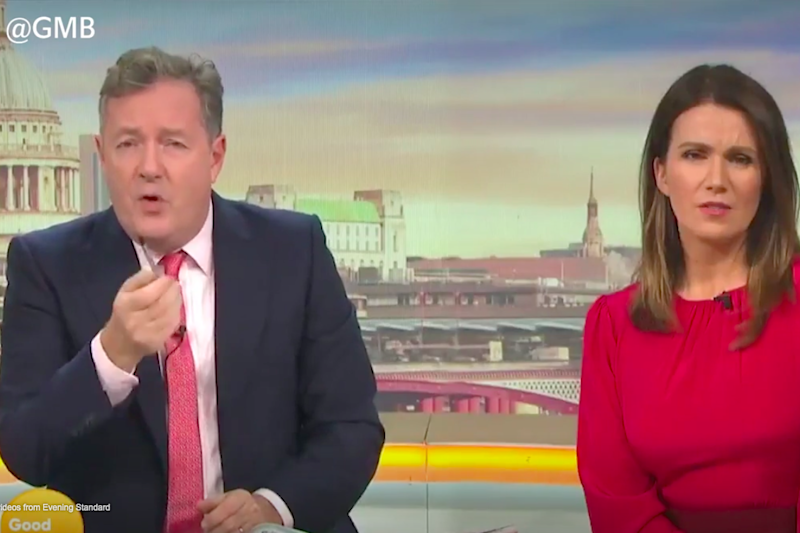 Piers Morgan blasted the Prime Minister: GMB