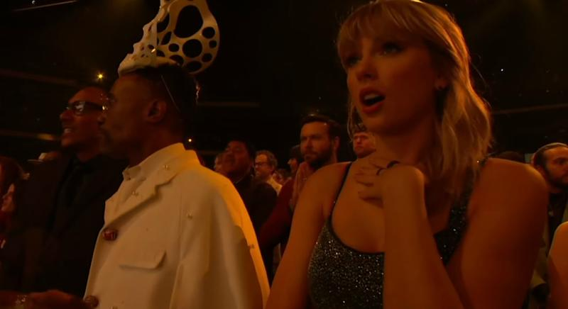 Taylor Swift en los American Music Awards 2019. (Foto: ABC)