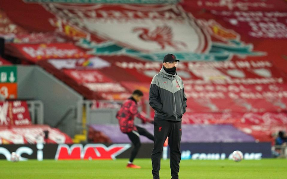Jurgen Klopp welcomes David Moyes' West Ham to town - PA